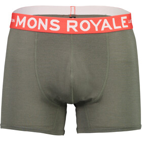 Mons Royale Hold 'em Shorty Boxer Herr olive